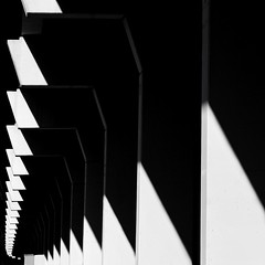 Bridge Highlights (2n2907) Tags: abstract architecture shadow shapes lines graphical geometry geometric contrast blackwhite bw