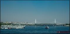 ISTANBUL (01dgn) Tags: istanbul haliç haliçköprüsü turkey turkei türkiye travel blue colors tele sonyilce7