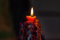 I can watch this for hours (langdon10) Tags: candle colourful colours details dripping flame tamron150600 wax