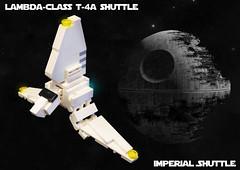 SW Microfighters: Imperial Shuttle (Ben Cossy) Tags: lego moc afol tfol imperial shuttle lambda class empire death star return the jedi endor wars