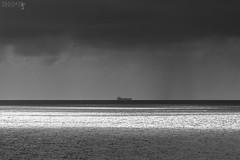 Sailing … (TAO-CAT) Tags: taliarte landscapes blackwhite sea ship panoramas piapoccia riccardopareschi grancanaria taocat