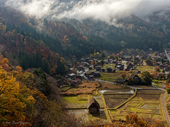 An Enchanting Village (Chizuka2010) Tags: japanthroughmyeyes copyrightluciegagnon shirakawago japan nihon travel travelphotography village tradition historicalvillage culture ogimachi gasshōzukuri roofs 白川郷 shirakawagoregion mountains valley lumix g9 lumixg9