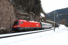 ÖBB 1016 019-2 Eurocity abgeschleppt, Gries am Brenner (michaelgoll777) Tags: öbb taurus 1016