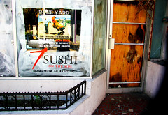 Sushi with an Attitude (klauslang99) Tags: klauslang urban closed store front old shut abandoned