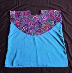 Zinacantan Huipil Maya Mexico Chiapas (Teyacapan) Tags: zinacantan mexico ropa maya huipiles embroidery flowers tzotzil indumentaria chiapas