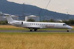 Loganair G-RJXH BHD 01/08/19 (ethana23) Tags: planes planespotting aviation avgeek aircraft aeroplane airplane embraer e145 145 loganair