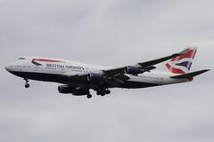 British Airways G-BYGE LHR 07/08/19 (ethana23) Tags: planes planespotting aviation avgeek aircraft aeroplane airplane boeing 747400 747 britishairways ba speedbird