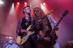Lars Karlsson : Guitarra y Martin Thomander :  Guitarra - Diamond Dogs (Samarrakaton) Tags: samarrakaton 2019 nikon d750 diamonddogs rock musica music liveshow directo guitarra guitar kafeantzokia bilbao concert concierto martinthomander larskarlsson