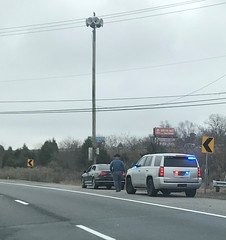 Delaware State Police (10-42Adam) Tags: delawarestatepolice delaware statepolice statetrooper trooper police lawenforcement trafficstop pulledover unmarkedpolice chevrolet tahoe