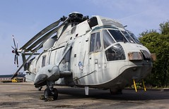 XZ579 Westland Sea King HAS.6 @ HMS Sultan, Gosport, Hampshire. (Sw Aviation) Tags: hms sultan gosport hampshire xz579 helicopter flying flight storage wreck relic helo avgeek planes aeroplane airplane