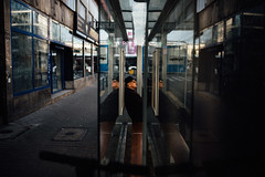 If you could see what I see (ewitsoe) Tags: moments nikon street warszawa winter erikwitsoe urban warsaw reflection citylife inthemoment afternoon waiting olderman busstop station cinematic life ordinary adventure travel traveler glasses