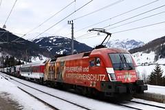 ÖBB 1016 048-1 Feuerwehr RoLa Schiebelok, Gries am Brenner (michaelgoll777) Tags: öbb 1016 taurus