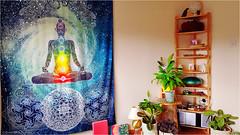 the studio (sure2talk) Tags: yogastudio chakras plants peaceful calming relaxing samsunggalaxys8 ansh1019yourhappyplace ansh scavenger9