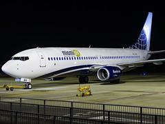 Miami Air International | Boeing 737-8K5(WL) | OO-JAH (Bradley's Aviation Photography) Tags: egsh nwi norwich norwichairport norfolk canon70d n735ma night airlivery 737 b738 nightphotos nightphotography miamiairinternational boeing7378k5wl oojah
