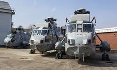 XV701 Westland Sea King HAS.6 @ HMS Sultan, Gosport, Hampshire. (Sw Aviation) Tags: hms sultan gosport hampshire xv701 helicopter flying flight storage wreck relic helo avgeek planes aeroplane airplane