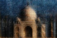 Taj Mahal (HWHawerkamp) Tags: india agra taj mahal travel creativeedit architecture building tomb graphics abstract