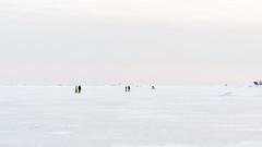 On ice (ikkasj) Tags: minimalismi minimalism outside helsinki winter ice nice snow natutre innature finland balticsea