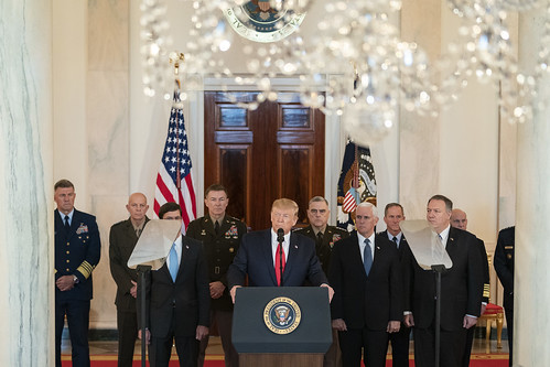 President Trump Delivers Remarks by The White House, on Flickr