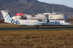Flybe G-ECOE BHD 16/12/19 (ethana23) Tags: planes planespotting aviation avgeek aircraft aeroplane airplane flybe bombardier dash8 dehavilland q400 dehavillandcanada