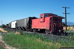 MoPac Lost in Utah (jamesbelmont) Tags: missouripacific caboose pvsc sandy midvale utah train railroad railway drgw riogrande unionpacific