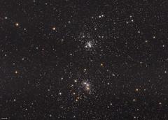 The Great Double Cluster (Jaspal Chadha - London Astrophotography) Tags: science england astrophotography essex london nasa apod astrometrydotnet:id=nova3867853 astrometrydotnet:status=solved