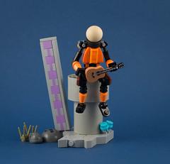 Risk of Rain 2 (Tino Poutiainen) Tags: lego moc legobuild model videogame risk rain commando gaming character scifi spacesuit roguelike toyphotography vignette