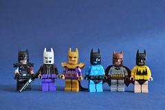 Watchbats (th_squirrel) Tags: lego watchmen dc comics batman minifig minifigure minifigs minifigures
