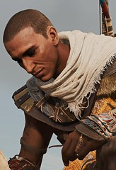 """Bitterness"" (L1netty) Tags: assassinscreed assassinscreedorigins ubisoft ubisoftmontreal pc game gaming pcgaming videogame reshade screenshot virtual digital srwe 6k character bayek bayekofsiwa man male people portrait color outdoor"