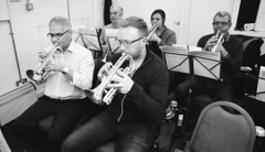 17a Knottingley Silver Band A (I ♥ Minox) Tags: film 2019 knottingley knottingleysilverband brassband windband music musician musicians rehearsal yorkshire westyorkshire olympus om1 om1n olympusom1 olympusom1n ilford hp5 ilfordhp5plus hp51600 1600asa