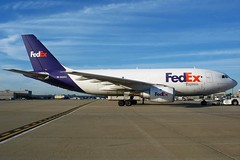 N425FE FedEx Express A310-203F at KCLE (GeorgeM757) Tags: fedexexpress klm n425fe phago aircraft aviation airplane airport airbus kcle clevelandhopkins georgem757 freighter cargo a310203f