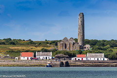 Scattery Island, Ireland (Manuel ROMARIS) Tags: ssmaryandsenan senan cathedral ireland saintmary island iniscathaigh scatteryisland ruins