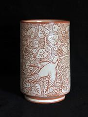 Oaxaca Mexico Vase Hummingbird (Teyacapan) Tags: oaxacan vaso pajaro colibri mexico pottery barro ceramica alfareriajimenez