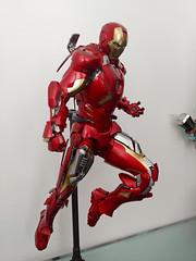 Iron Man Mark VII (becauseBATMAN) Tags: hot toys iron man marvel hottoys ironman 16 figure one sixth 1 6 action collection mark mk vii 7 avengers theavengers diecast mms stark armor v ii seven