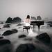 Piano Spielerin Piano Bride Sea Edited 2020