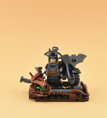 LEGO Batman Zero Year 1/2 (Alex THELEGOFAN) Tags: lego legography minifigure minifigures minifig minifigurine minifigs minifigurines bat batman vignette heroes super creation moto motorcycle nature year zero dc comics