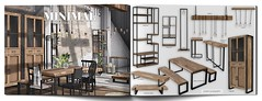 MINIMAL - Industrial Deco (MINIMAL Store) Tags: minimal industrial deco collabor88 wardrobe tables lights shelves