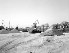 Wrocław, Poland. (wojszyca) Tags: intrepid camera 4x5 largeformat fujinon sw 90mm hc110 163 epson v800 urban landscape snow decay newtopographics