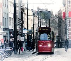 Quel temps fait-il maintenant a la haye? (Gerard Stolk (au carnaval )) Tags: thehague denhaag lahaye haag tram trams streetcar straszenbahn htm 3090