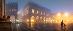 Cremona- nebbia in piazza Duomo (davidevolpi (thanks for 2 million more views)) Tags: approvato