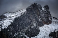 Mount Rainier National Park   Tatoosh Range Image nr. 3 (Nature1844 Photography) Tags: mountains mountrainiernationalpark tatoosh tatooshrange autumn trees snow crags landscapephotography landscape