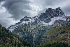 Mount Rainier National Park   Tatoosh Range Image nr. 2 (Nature1844 Photography) Tags: mountrainiernationalpark tatooshrange tatoosh mountains landscapephotography autumn snow trees crags landscape