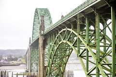 Yaquina Bay Bridge (Thomas Hawk) Tags: america newport oregon oregoncoast usa unitedstates unitedstatesofamerica yaquinabaybridge bridge fav10 fav25 fav50