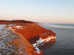 Heading back to Confederation Bridge PEI