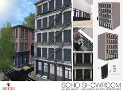 NEW! Soho Showroom @ C88 (Bhad Craven 'Bad Unicorn') Tags: 3d art artist gfx graphic design bhadcraven badunicorn unicorns unicorn bad bhad craven secondlife second life sl mesh meshed decor decorative decors home garden gardens homes houses builds buildings cool dope ny new york newyork style sohos hipster store front