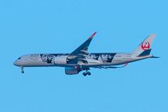 JA04XJ Airbus A350-941 352 RJCC (CanAmJetz) Tags: ja04xj airbus a350941 aircraft airplane unicef jal 352 rjcc cts nikon