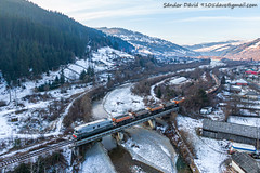 2020.01.02 | 60-1649-2 | Tasca (Davee91) Tags: grawel for heidelbergcement factory 6016492 bicaz romania trenuri marfar piatraneamt güterzug tehervon bridges pod river walley
