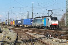 Railpool 186 104 Basel Bad (daveymills37886) Tags: railpool 186 104 basel bad baureihe bombardier traxx ms2e