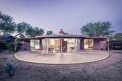 Ball-Paylore House (1952) (bugeyed_G) Tags: tucson arizona southwest desert architecture midcentury modern atomicage arthurtbrown historic 1952 twilight