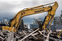 618OCT2-8 (barrie.barrington11) Tags: digger demolition carnarvon 618
