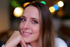 Smile (Lothbrok'sYen) Tags: portrait lumixspro5014 5014 young wimpern woman lady eyes face teeth lothbroksyen